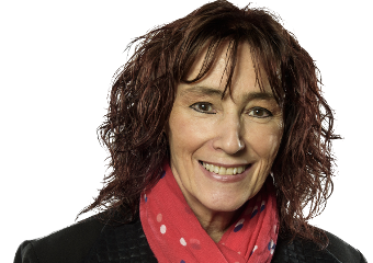 Claudine Bertrand, animatrice de Arts et lettres